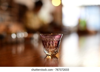 Japanese Glass Kiriko