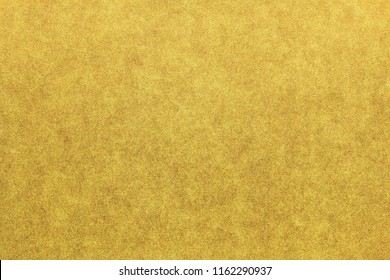 Japanese gold paper texture or grunge vintage background