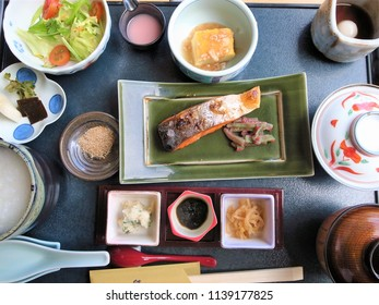 Japanese gorgeous lunch set menu