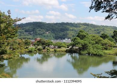 japanese green in Kanazawa