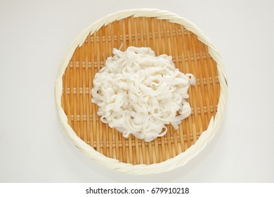 Japanese healthy food image, Udon like Konnyaku noodle