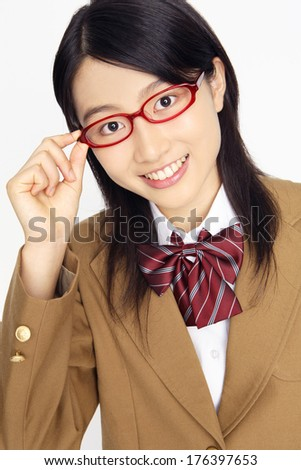 Know, japanese girl with glasses