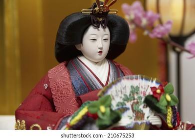 """Japanese Hina Dolls"" A Girl"