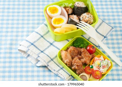 Japanese homemade lunchbox