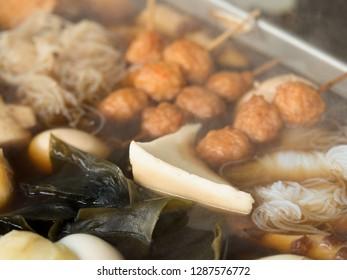 "Japanese hot pot dish ""Oden"""