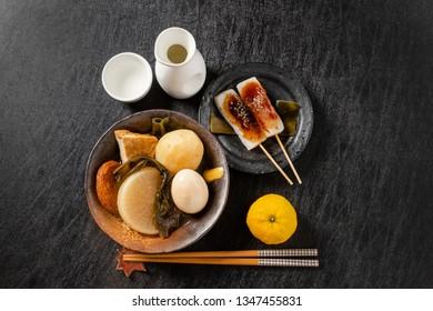 Japanese hotchpotch stew(ODEN)
