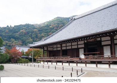 japanese houses inside Tenryu-ji Temple