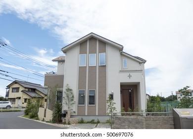 Japanese housing new homes image