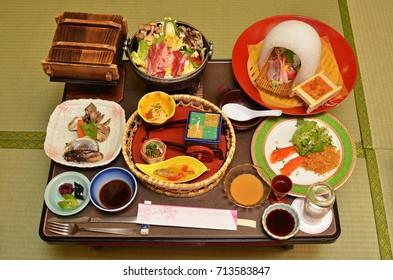 Japanese Kaiseki Cuisine
