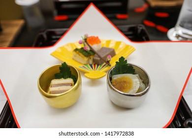 Japanese Kaiseki Meal in Japan