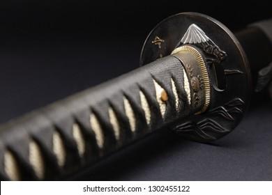 Japanese katana samurai sword
