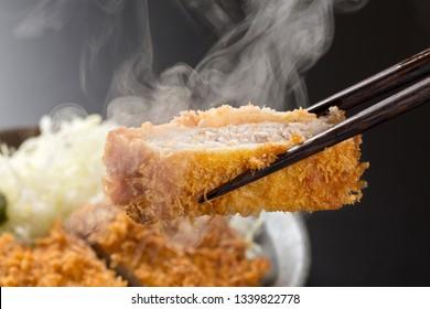 Japanese Katsudon Food