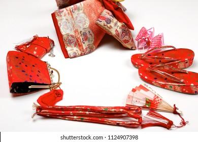 Japanese kimono accessories