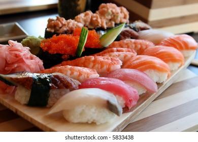 The Japanese kitchen. Sushi