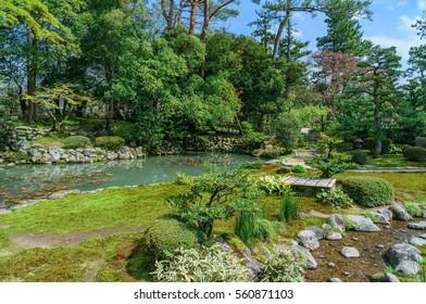 japanese landscape - kenrokuen - kanazawa - ishikawa