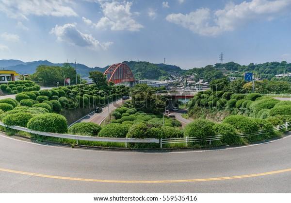 japanese landscape - ondo no seto - kure - hiroshima