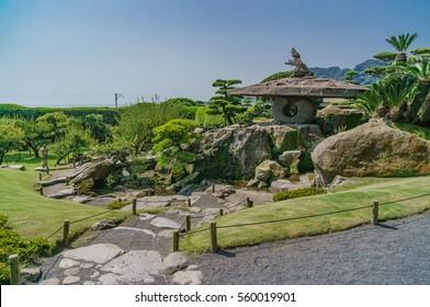 japanese landscape - senganen - kagoshima