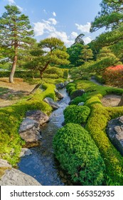 japanese landscape - suirakuen - shirakawa - fukushima