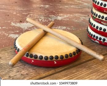 Japanese local drum