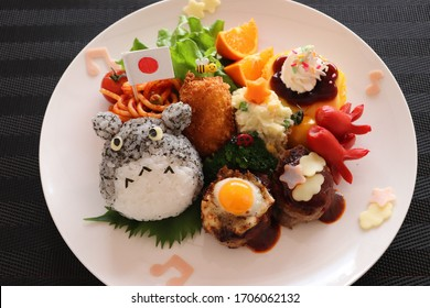 Japanese lunch plate for kids