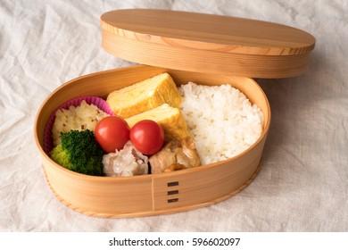 "Japanese lunchbox ""magewappa"""