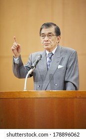 Japanese man in Lecture