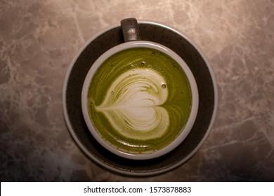 Japanese Matcha Latte with love