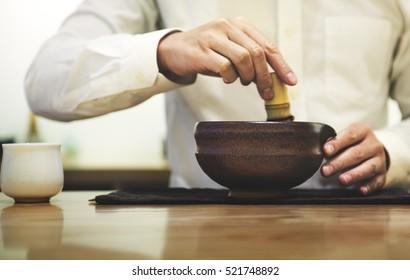 Japanese Matcha Tranditional Culture Concept