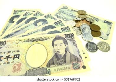 Japanese money.