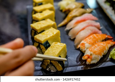 Japanese national food suchi is popular throughout the world. Use local fresh fish as the main component with rice.