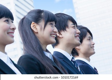 Japanese new society of smile