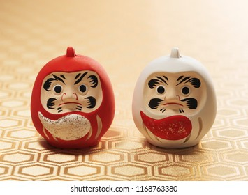 Japanese New Year Daruma Toys