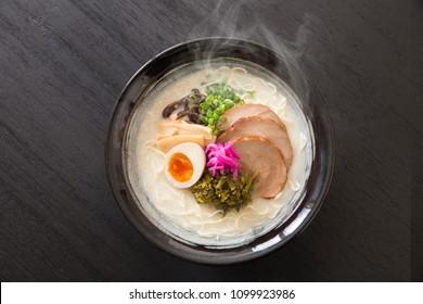 Japanese noodles, Tonkotsu taste