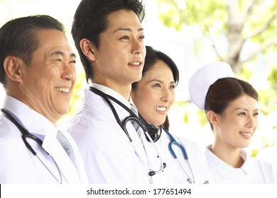 Japanese Nurses and doctors forgo the patient