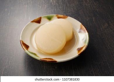 Japanese oden, Japanese white radish, daikon radish