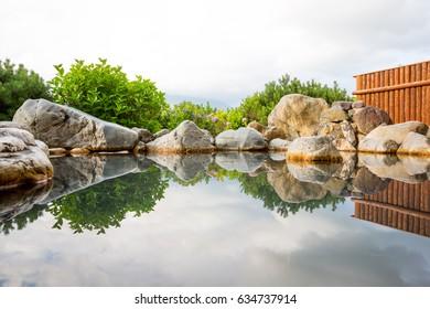 Japanese Onsen (Hot Spring Bath).