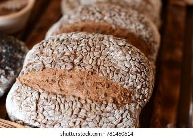 Japanese organic bread