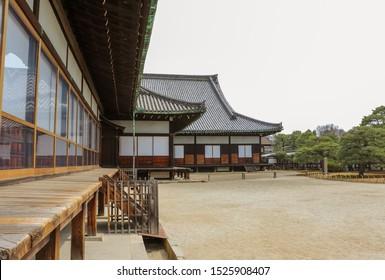 Japanese palace in which Tokugawa shogun lived