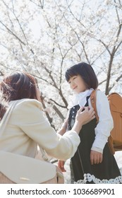Japanese parents and children get ready