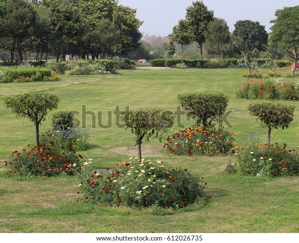 Japanese Park Rohini New Delhi India Stock Photo Edit Now 612026735