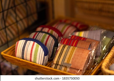Japanese pattern wallet sold at Japanese souvenir shops