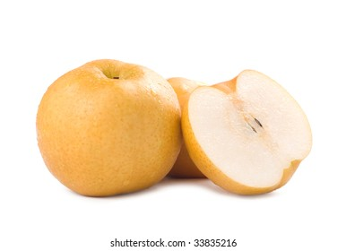 Japanese pear, popular fruit in asia
