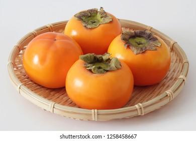 Japanese Persimmons, Aizu Mishirazu Kaki