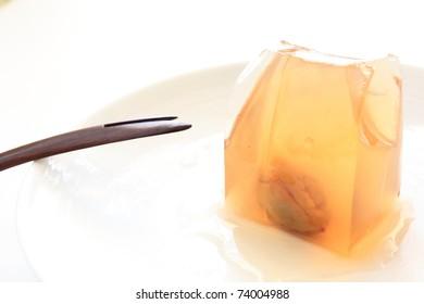 Japanese Plum Kanten Jelly