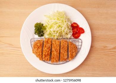 Japanese pork cutlet