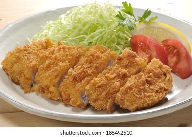 Japanese Pork cutlet dish