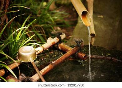 Japanese purification ladle
