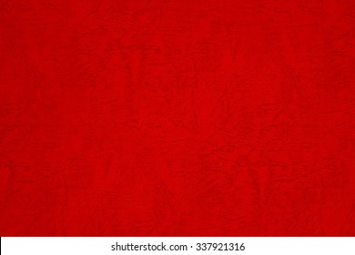 Japanese red paper.