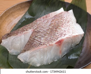 Japanese red sea bream fillet