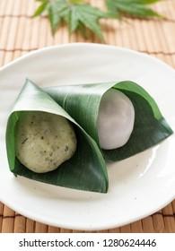 "Japanese rice cake ""Sasa-mochi"""